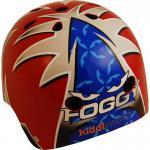 Kiddimoto Helm No 1 Carl Fogarty Größe S - 48-53 cm, geprüft nach EC EN1078