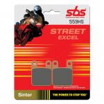 Bremsbelag SBS 559HS Streetexcel Sintermetall