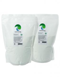 Magnesium Pur - Pulver S - Vorteilsset 2x 500g Beutel