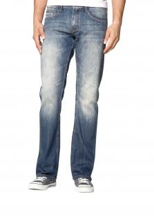 Mustang - Herren 5-Pocket Jeans, Low rise/Boot Leg, Oregon Boot, Farbe strong bleach (3117-5107-535)