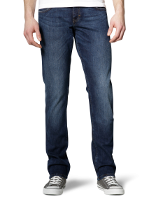 Mustang - Comfort Fit - High rise - Herren 5-Pocket Jeans, Farbe dark scratched used, Chicago Tapered (3156-5357)