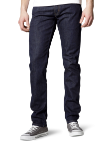 Mustang - Slim Fit - Low rise - Herren 5-Pocket Jeans, Oregon Tapered, Farbe rinse washed (3116-5357-590)