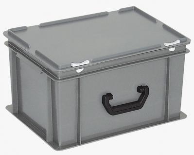 Kunststoffkoffer Mehrzweckkoffer Transportkoffer Eurokoffer Stapelbehälter 55000 - Vorschau