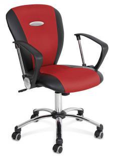 Bürosessel Bürodrehstuhl Stuhl Stoffstuhl Armlehnenstuhl Drehstuhl Sonex 59287 - Vorschau