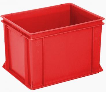 8x Stapelbehälter Lagerkasten Transportbehälter Kunststoffkiste Lagerkiste 55324