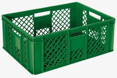 5x Stapelbehälter Lagerkasten Brötchenkorb Kunststoffkiste Lagerkiste 55420 - Vorschau