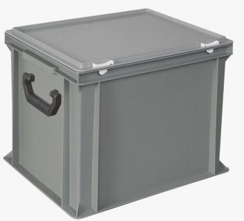 Kunststoffkoffer Mehrzweckkoffer Transportkoffer Eurokoffer Stapelbehälter 55004 - Vorschau