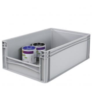 Euro-Stapelbehälter -Profi- mit Eingrifföffnung Behälter Transportbox 21091 - Vorschau 1