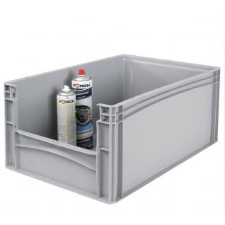 Euro-Stapelbehälter -Profi- mit Eingrifföffnung Behälter Transportbox 21092 - Vorschau 1