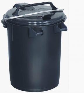 Mülltonne Mülleimer Bügeltonne Deckeltonne Abfalltonne Abfalleimer 35Liter 31035 - Vorschau