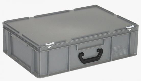 Kunststoffkoffer Mehrzweckkoffer Transportkoffer Eurokoffer Stapelbehälter 55013 - Vorschau