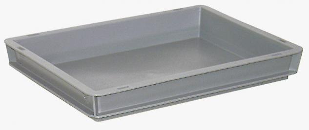 10x Stapelbehälter Lagerkasten Transportbehälter Kunststoffkiste Kiste 22054 - Vorschau
