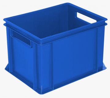 8x Stapelbehälter Lagerkasten Transportbehälter Kunststoffkiste Lagerkiste 22932