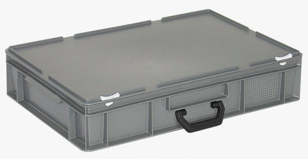 Kunststoffkoffer Mehrzweckkoffer Transportkoffer Eurokoffer Stapelbehälter 55010
