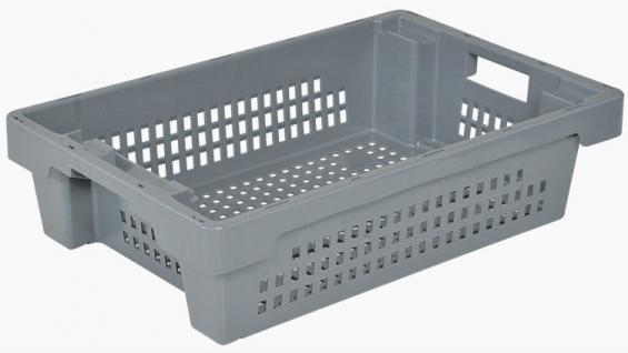 Drehstapelbehälter Stapelbehälter Platzsparbehälter Kunststoffkasten 34063 - Vorschau