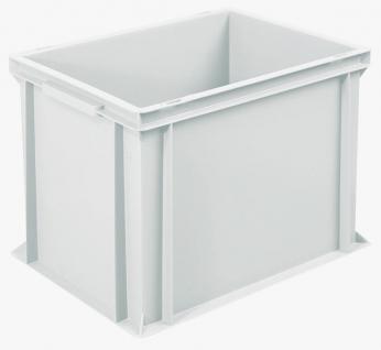 6x Stapelbehälter Lagerkasten Transportbehälter Kunststoffkiste Lagerkiste 22036