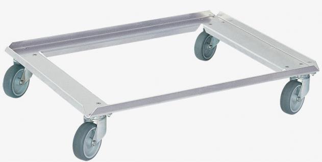 Aluminiumroller Transportroller Roller Rollwagen Allzweckwagen 80x60cm 55823