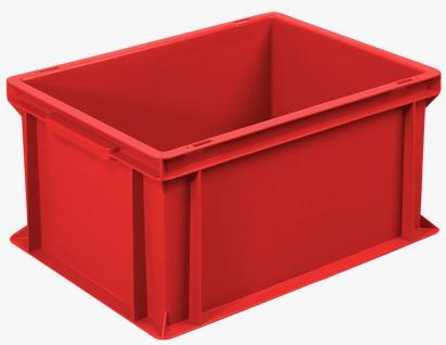 10x Stapelbehälter Lagerkasten Transportbehälter Kunststoffkiste Kiste 55505 - Vorschau