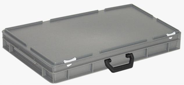 Kunststoffkoffer Mehrzweckkoffer Transportkoffer Eurokoffer Stapelbehälter 55008 - Vorschau
