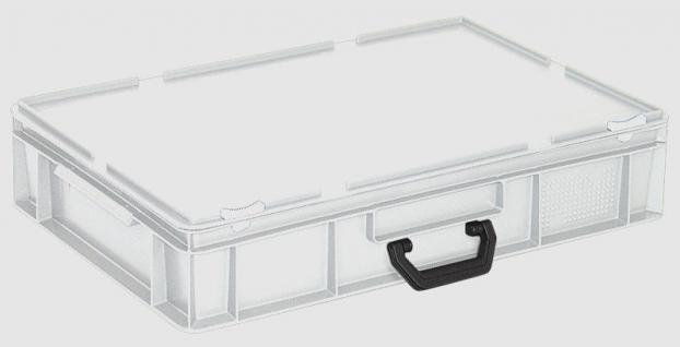 Kunststoffkoffer Mehrzweckkoffer Transportkoffer Eurokoffer Stapelbehälter 55603