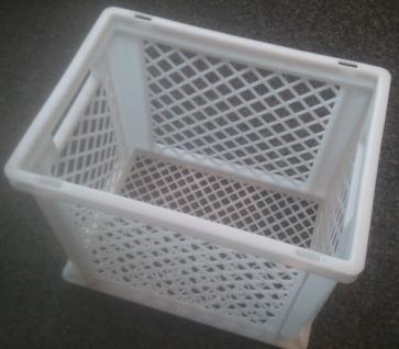 B-Ware Stapelbehälter Kunststoffkiste Kunststoffbehälter Stapelkiste 22037 - Vorschau