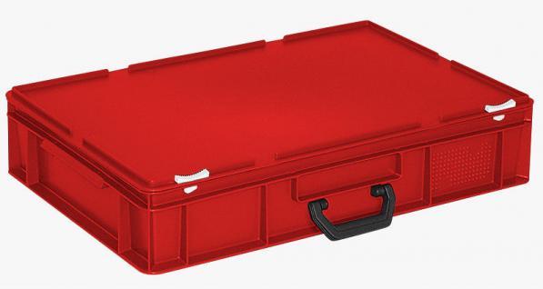 Kunststoffkoffer Mehrzweckkoffer Transportkoffer Eurokoffer Stapelbehälter 55011 - Vorschau