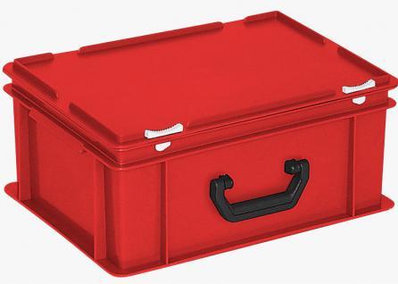 Kunststoffkoffer Mehrzweckkoffer Transportkoffer Eurokoffer Stapelbehälter 22998