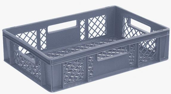 5x Stapelbehälter Lagerkasten Brötchenkorb Kunststoffkiste Lagerkiste 55410