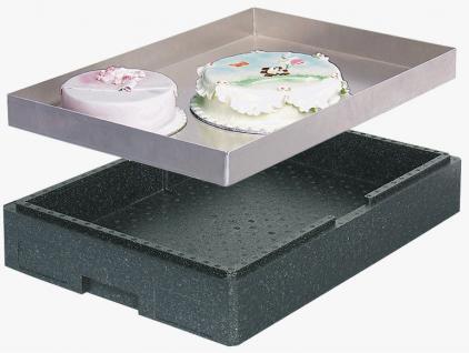 Thermobox Tortenbox Kühlbehälter Isobox Kuchenblechkiste 22830 - Vorschau