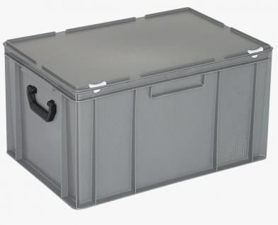 Kunststoffkoffer Mehrzweckkoffer Transportkoffer Eurokoffer Stapelbehälter 55019