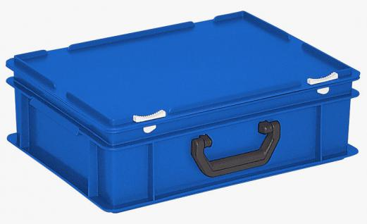 Kunststoffkoffer Mehrzweckkoffer Transportkoffer Eurokoffer Stapelbehälter 22988