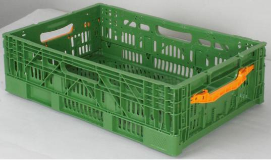 Klappbehälter Gemüsekiste Klappkiste Faltkiste Stapelbehälter Gitterkorb 55623