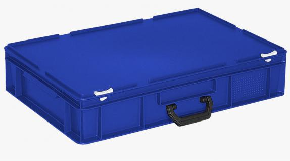 Kunststoffkoffer Mehrzweckkoffer Transportkoffer Eurokoffer Stapelbehälter 55012