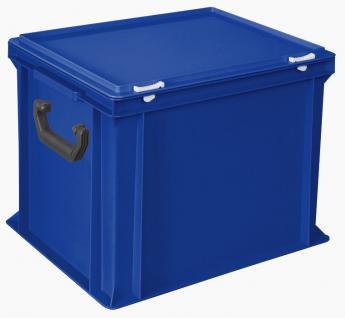 Kunststoffkoffer Mehrzweckkoffer Transportkoffer Eurokoffer Stapelbehälter 55007