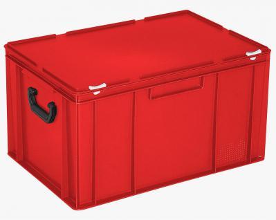 Kunststoffkoffer Mehrzweckkoffer Transportkoffer Eurokoffer Stapelbehälter 55020 - Vorschau