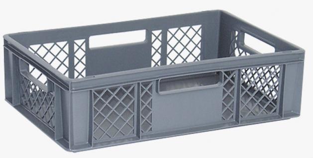Stapelbehälter Lagerkasten Brötchenkorb Kunststoffkiste Lagerkiste 22168 - Vorschau