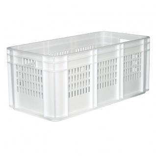 Baguettebehälter Baguette Langgutbehälter Transportkiste Kunststoffkiste 39348 - Vorschau