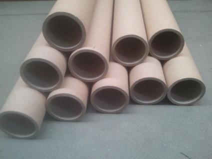 10x Papprollen Papprohre Versandhülsen Versandrollen Bastelrolle - Vorschau 2