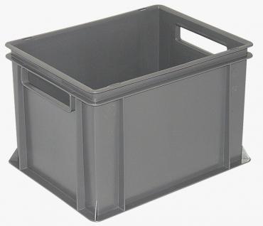 8x Stapelbehälter Lagerkasten Transportbehälter Kunststoffkiste Lagerkiste 22569 - Vorschau