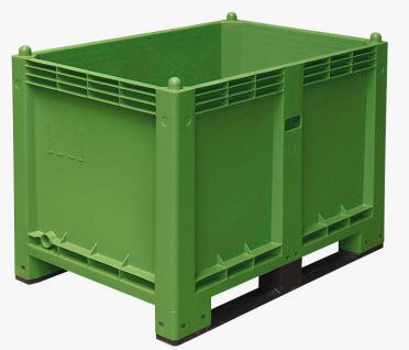 Palettenbox Kufenbox Volumenbox Transportbox Winzerbox Obstbox 55196