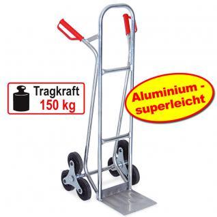Aluminiumkarre Sackkarre Transportkarre Stapelkarre Treppenkarre 52812 - Vorschau