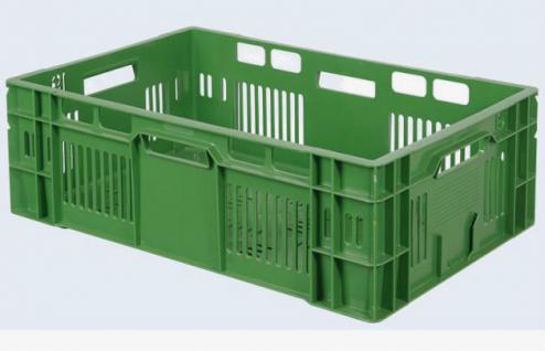 Gemüsekiste Lagerkiste Kunststoffkiste Gitterkorb Stapelbehälter 60x40cm 55843