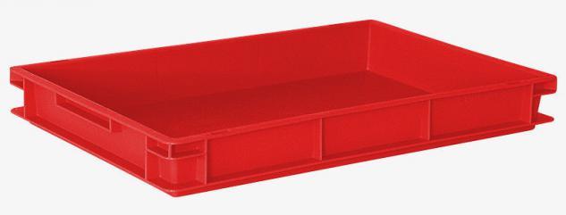 18x Kunststoffkiste Rutschkasten Schlittenkasten Stapelbehälter 20429