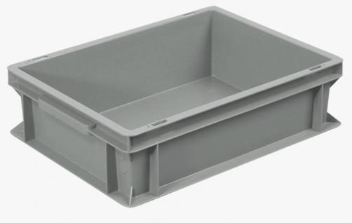 10x Stapelbehälter Lagerkasten Transportbehälter Kunststoffkiste Kiste 55498