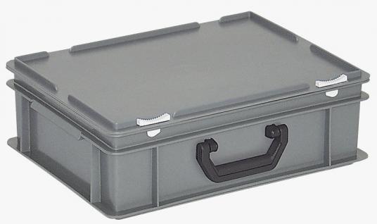 Kunststoffkoffer Mehrzweckkoffer Transportkoffer Eurokoffer Stapelbehälter 22978