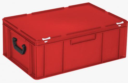 Kunststoffkoffer Mehrzweckkoffer Transportkoffer Eurokoffer Stapelbehälter 55017 - Vorschau