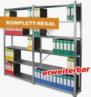Ordnerregal Aktenregal Archivregal Archiv Büroregal Regal Steckregal 61935 - Vorschau