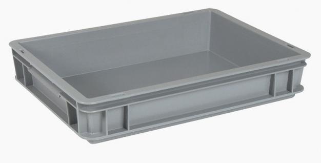 10x Stapelbehälter Lagerkasten Transportbehälter Kunststoffkiste Kiste 22074
