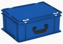 Kunststoffkoffer Mehrzweckkoffer Transportkoffer Eurokoffer Stapelbehälter 22999