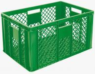 4x Stapelbehälter Lagerkasten Brötchenkorb Kunststoffkiste Lagerkiste 55427